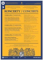 Tradycje śląskiej kultury muzycznej - koncerty
