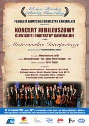 15-lecie Gliwickiej Orkiestry Kameralnej