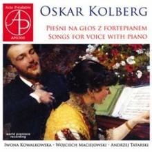 """Oskar Kolberg """"Pieśni na głos z fortepianem"""" (AP0300)"""