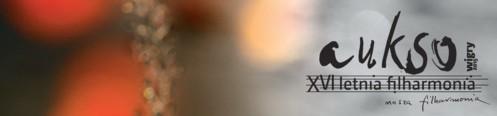 XVI LETNIA FILHARMONIA aukso – Wigry 2015