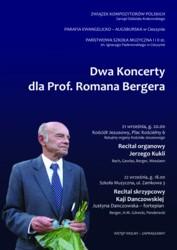Koncerty dla prof. Romana Bergera w Cieszynie