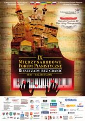 """IX Międzynarodowe Forum Pianistyczne """"Bieszczady bez granic"""" 2014"""