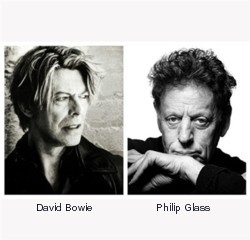 David Bowie i Philip Glass