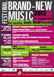 Brand-New Music 2012