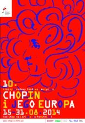 10.Międzynarodowy Festiwal Muzyczny CHOPIN I JEGO EUROPA