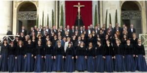 Chór Filharmonii Krakowskiej w Watykanie