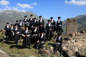 Męski Chór Państwowej Filharmonii Republiki Płn. Osetii - Ałanii z Władykaukazu