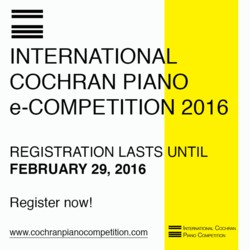 Cochran Piano e-Competition 2016