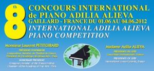 8th International Adilia Alieva Piano Competition 2012