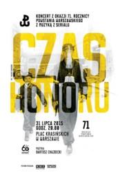 Koncert z okazji 71. rocznicy Powstania Warszawskiego