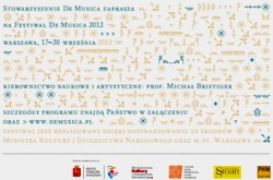 "Festiwal ""De Musica"" 2012"
