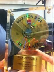 Nagroda Diapason d'Or de l'Année dla Eliasza