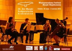 24. Dni Muzyki Kompozytorów Krakowskich 2012