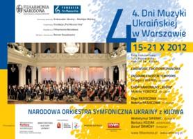4. Dni Muzyki Ukraińskiej w Warszawie