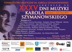 Dni Muzyki Karola Szymanowskiego