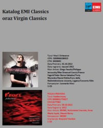 Nowości w katalogu EMI Classics i Virgin Classics - październik 2012