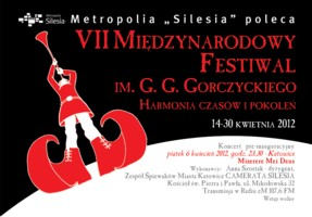 Międzynarodowy Festiwal im. Gorczyckiego 2012