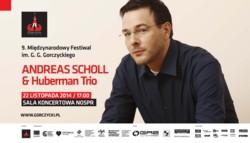 Andreas Scholl oraz Huberman Trio