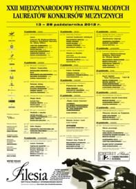 XXII Międzynarodowego Festiwalu Młodych Laureatów Konkursów Muzycznych 2012