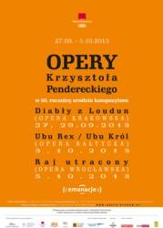 Festiwal Oper Krzysztofa Pendereckiego
