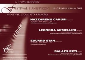 Festiwal Pianistyczny Miasta Krakowa 2011