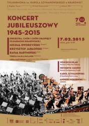 Koncert jubileuszowy 1945-2015