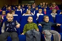 Dziecięca publiczność w Radiu Katowice