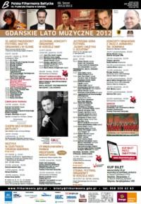 Gdańskie Lato Muzyczne 2012