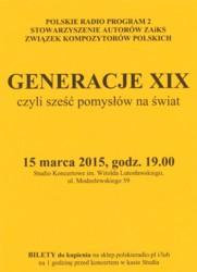 Generacje XIX