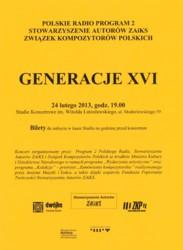 Generacje XVI