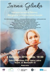 Iwona Glinka: Mój głos w tworzeniu nowej muzyki