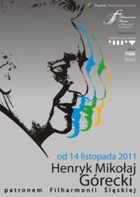 Henryk Mikołaj Górecki patronem Filharmonii Śląskiej