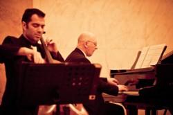 Lars Hoefs - cello and Marek Zebrowski - piano