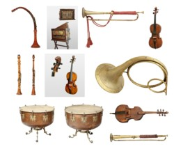 Wystawa instrumentów z Jasnej Góry