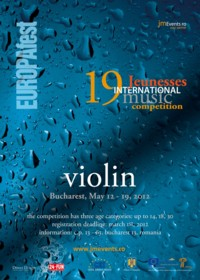19th Jeunesses International Violin Competition