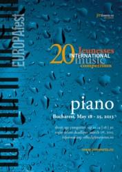 Jeunesses International PIANO Competition 2013