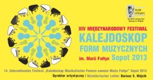Kalejdoskop Form Muzycznych im. Marii Fołtyn - Sopot 2013