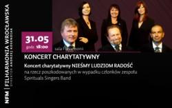 Nieśmy ludziom radość – koncert charytatywny na rzecz Zespołu Spirituals Singers Band