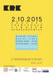 Koncert Prawykonań Utworów Akordeonowych w Krakowie