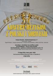 Koncert muzyków z Polski i Norwegii