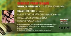 koncert Prawykonań w Kielcach