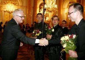 Ivo Josipović - koncert 23 września 2011 na Zamku Królewskim w Warszawie