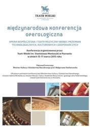 Międzynarodowa Konferencja Operologiczna – Poznań, 15-17 marca 2015
