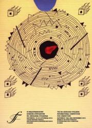 Plakat Promujący IX Międzynarodowy Konkurs Dyrygentów 2012