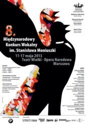 VIII Międzynarodowy Konkurs Wokalny im. Stanisława Moniuszki 2013