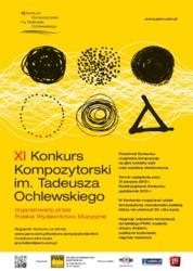 XI Konkurs Kompozytorski im. Tadeusza Ochlewskiego 2013