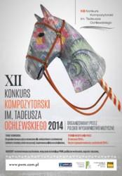 XII Konkurs Kompozytorski im. Tadeusza Ochlewskiego 2014