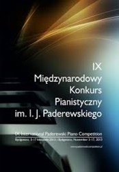 Międzynarodowy Konkurs Pianistyczny im. I. J. Paderewskiego w Bydgoszczy