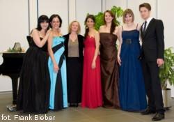 od lewej: Adriana Ferfecka, Ekaterina Leonova, Malgorzata Kluzniak-Celinska, Fatma Said, Malgorzata Bartkowska, Friederike Bieber, Philipp Mathmann