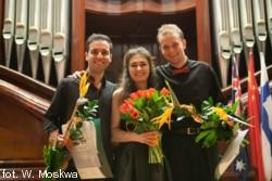 Laureaci Konkursu: Zuzanna Sosnowska, Maciej Kułakowski, Dorukhan Doruk